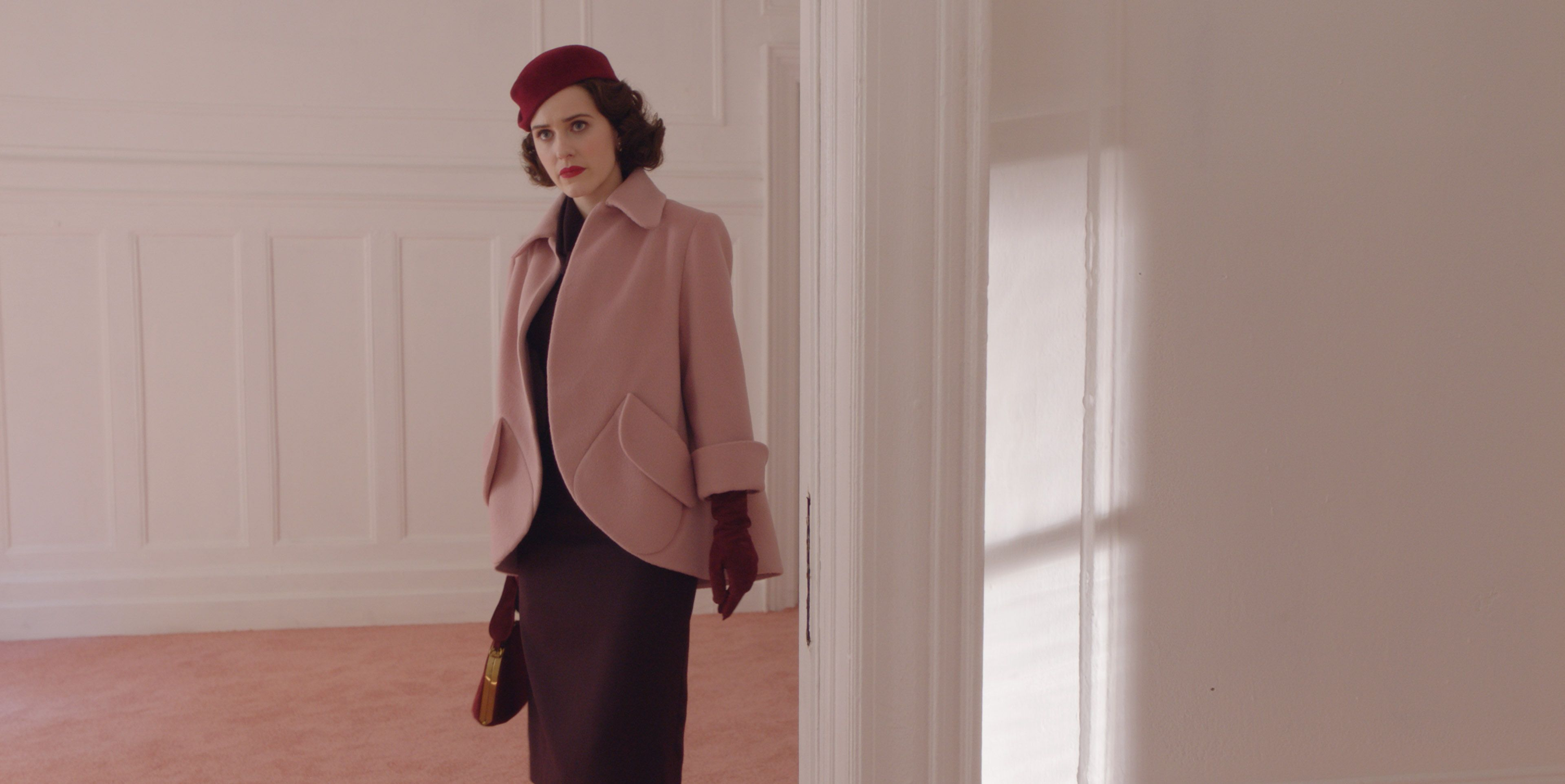 rachel brosnahan in the marvelous mrs maisel season 2