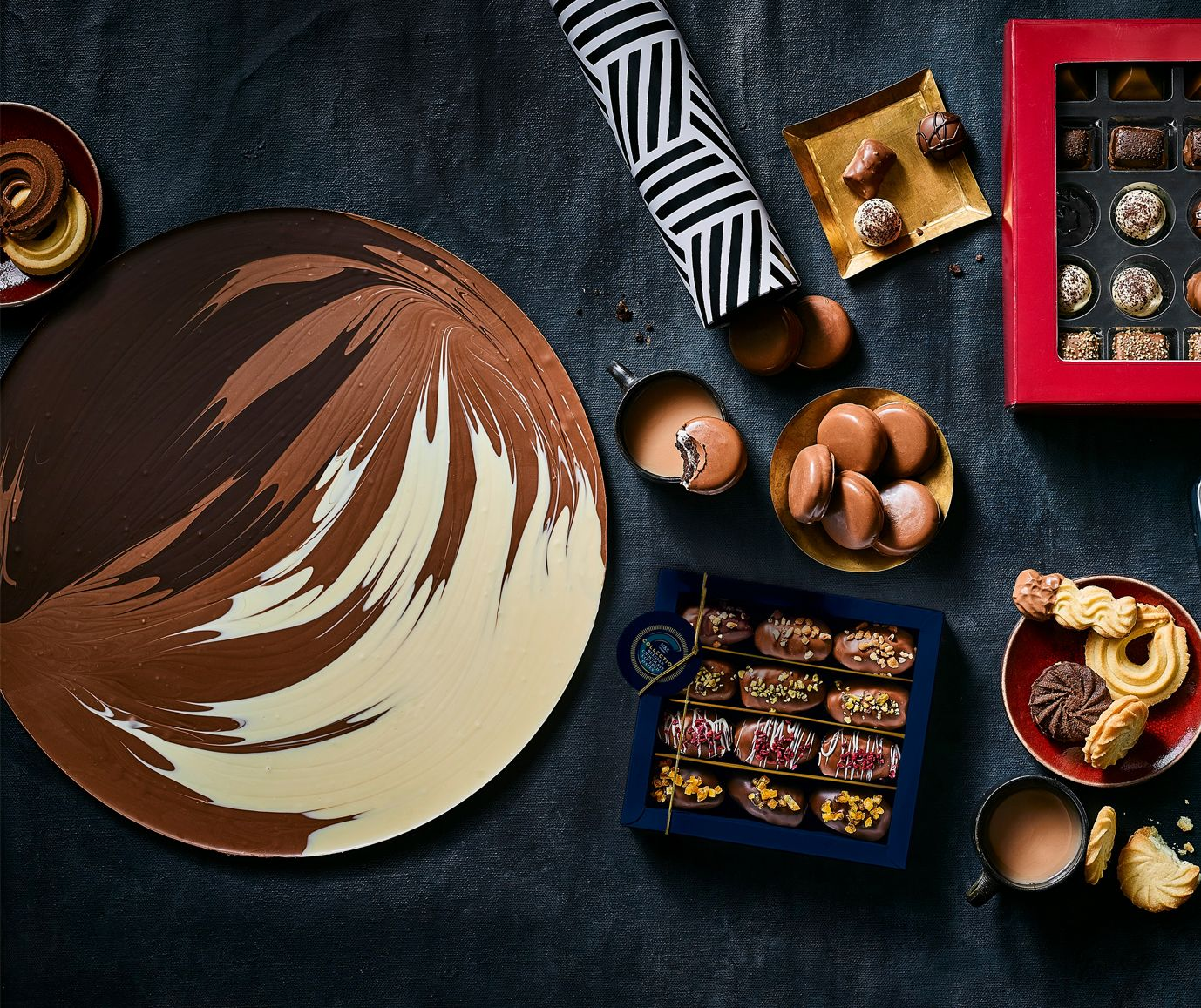 Marks & Spencer are selling a 1kg giant Chocolate Button for Christmas