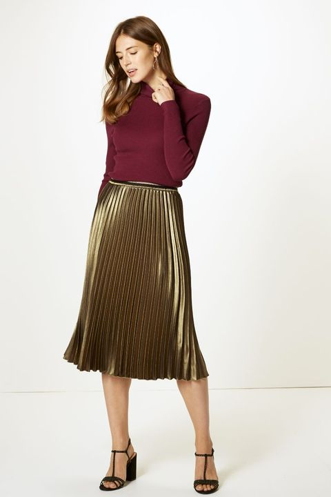 best prices newest collection find lowest price 24 Marks & Spencer midi skirts you need in your wardrobe now
