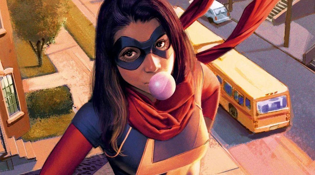 Brie Larson quiere a Ms. Marvel en una 'Capitana Marvel 2'