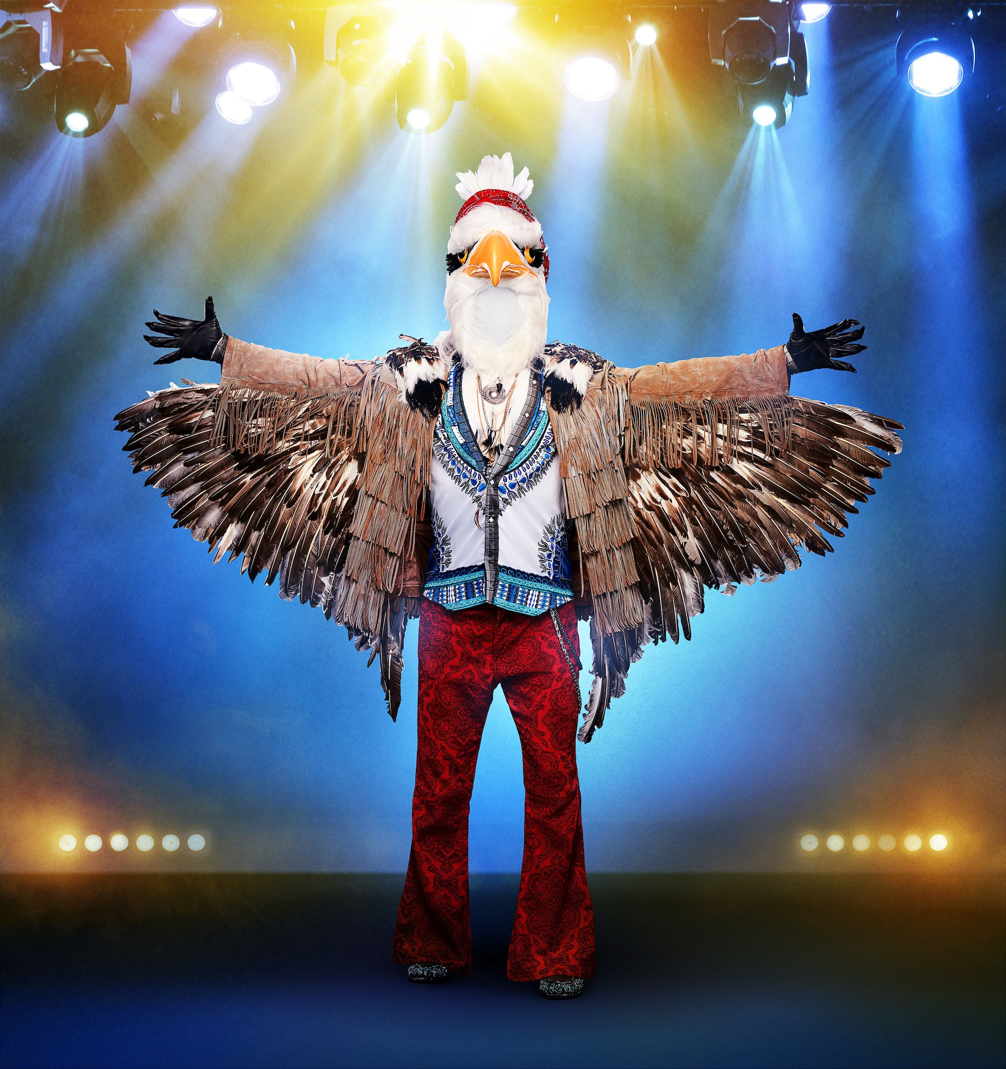 Who Is the Eagle on 'The Masked Singer'? This Celeb Has Been Unmasked