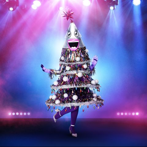 Christmas tree, Tree, Christmas decoration, Purple, Sky, Pink, Violet, Light, Christmas, Woody plant,