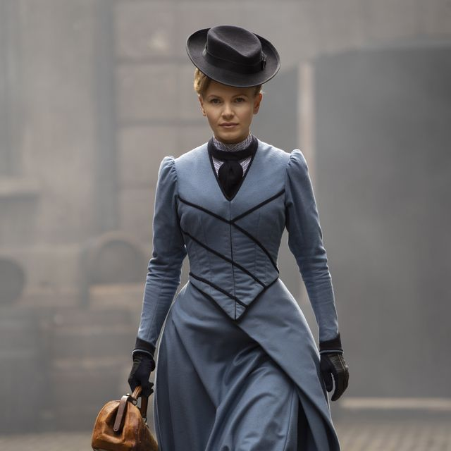 """masterpiece""""miss scarlet  the duke""""episode onesunday, january 17, 2021 8   9pm et on pbsthrown onto her own, eliza goes to work as a private detective to get out ofdebt luckily, a family friend known as the duke is a cop willing to helpshown kate phillips as eliza scarletfor editorial use onlycourtesy of masterpiece"""