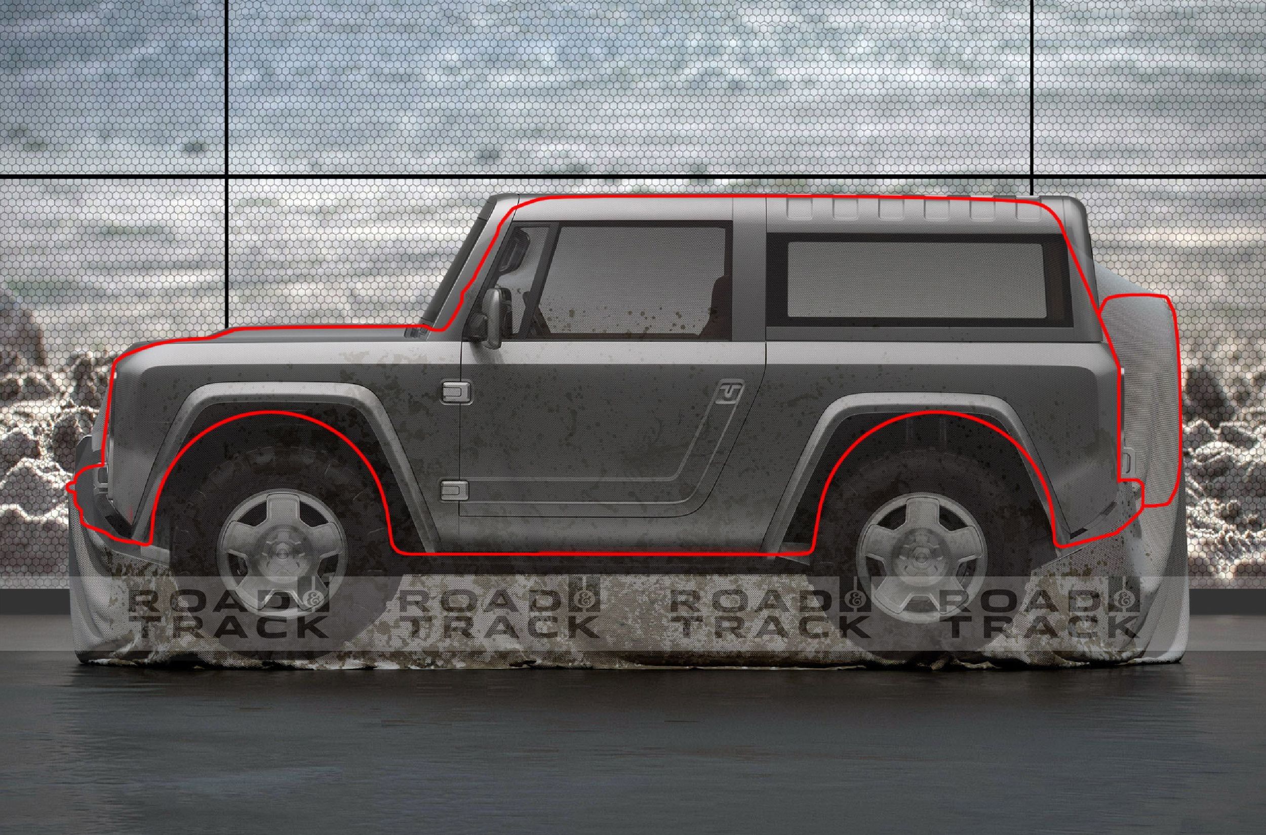 Heres what we think the 2020 ford bronco will look like