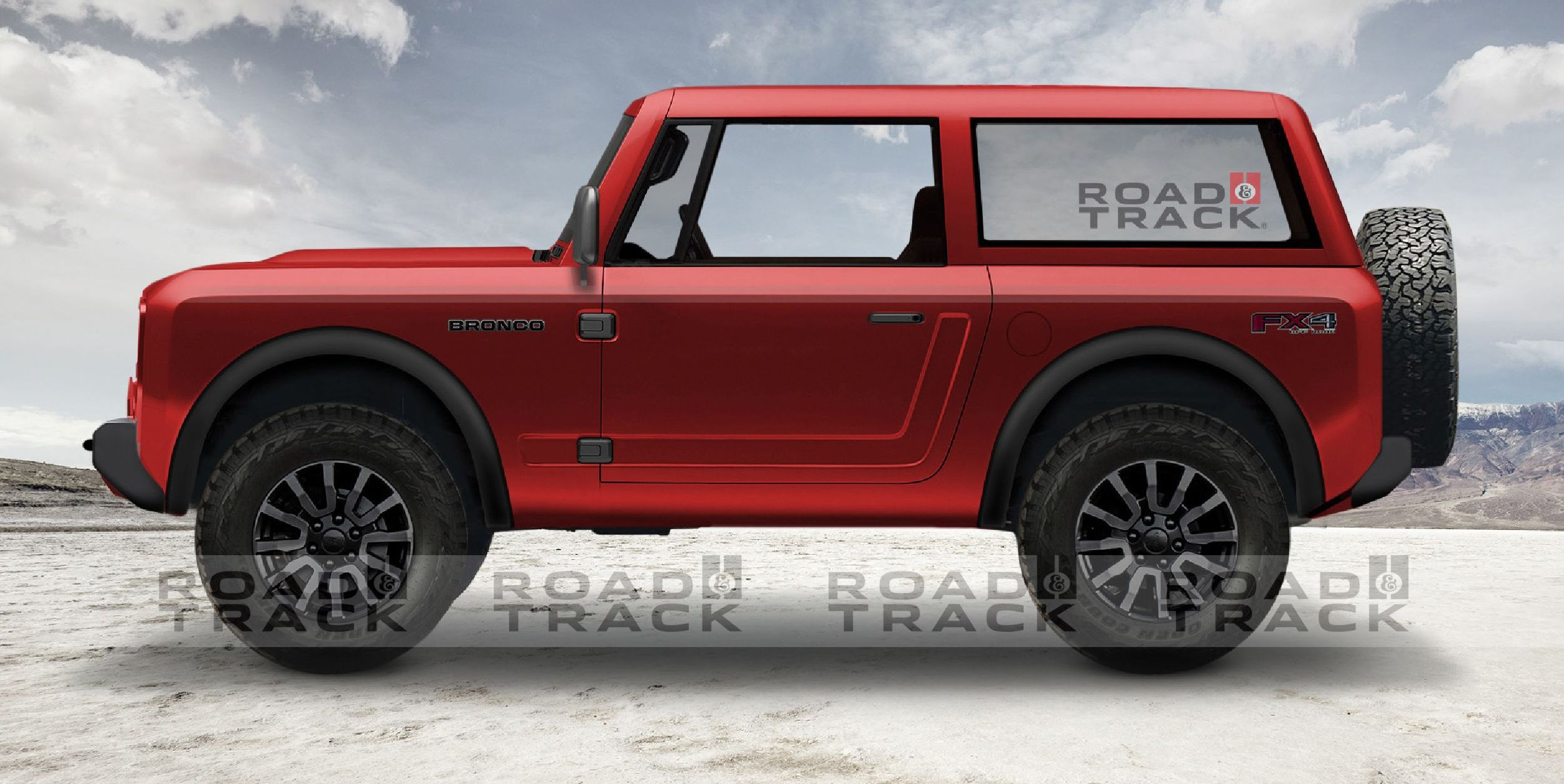 New Ford Bronco 2020 Ford Bronco Details News Photos