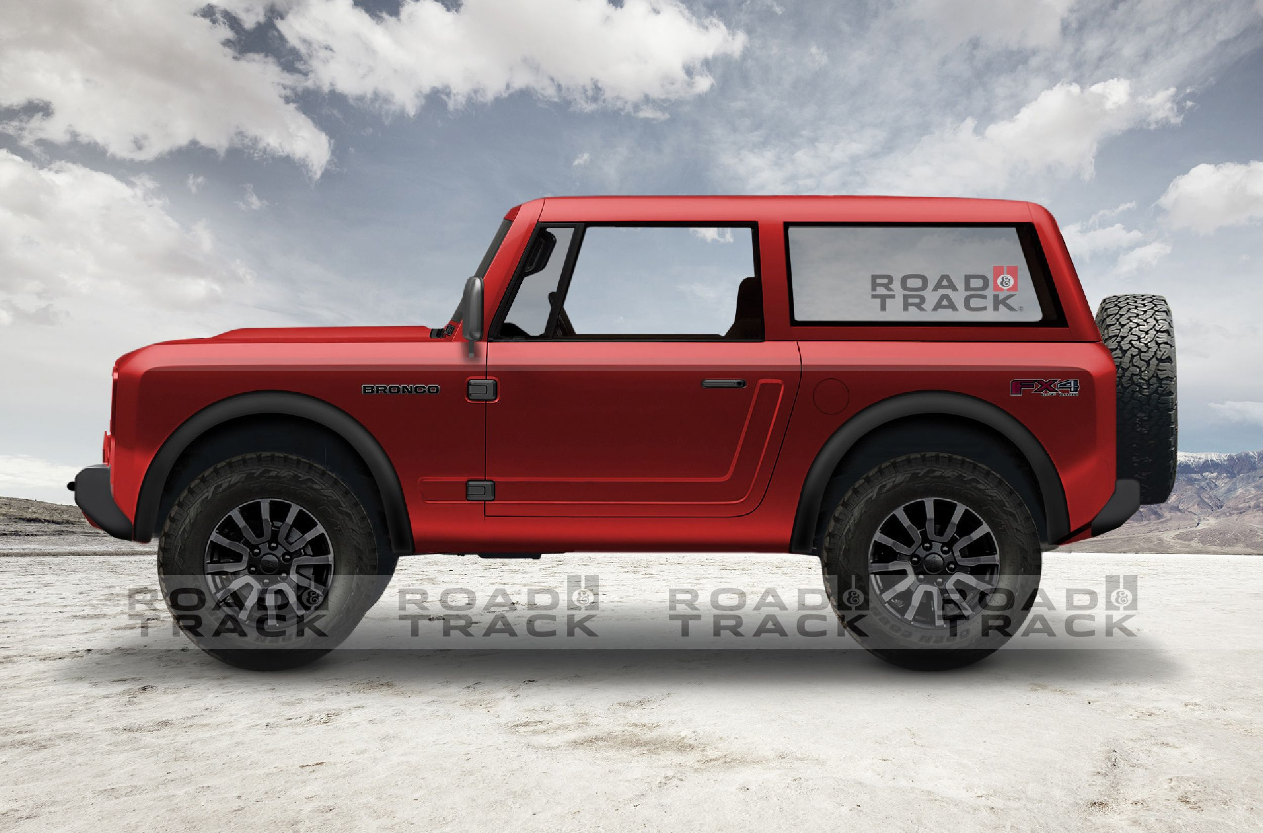 Here's What We Think the 2020 Ford Bronco Will Look Like