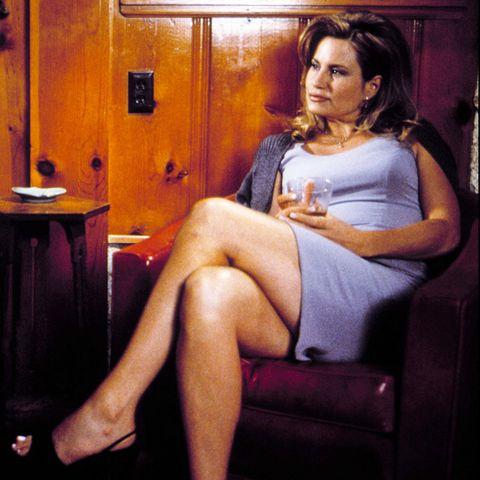 Sitting, Leg, Black hair, Formal wear, Suit, Conversation,