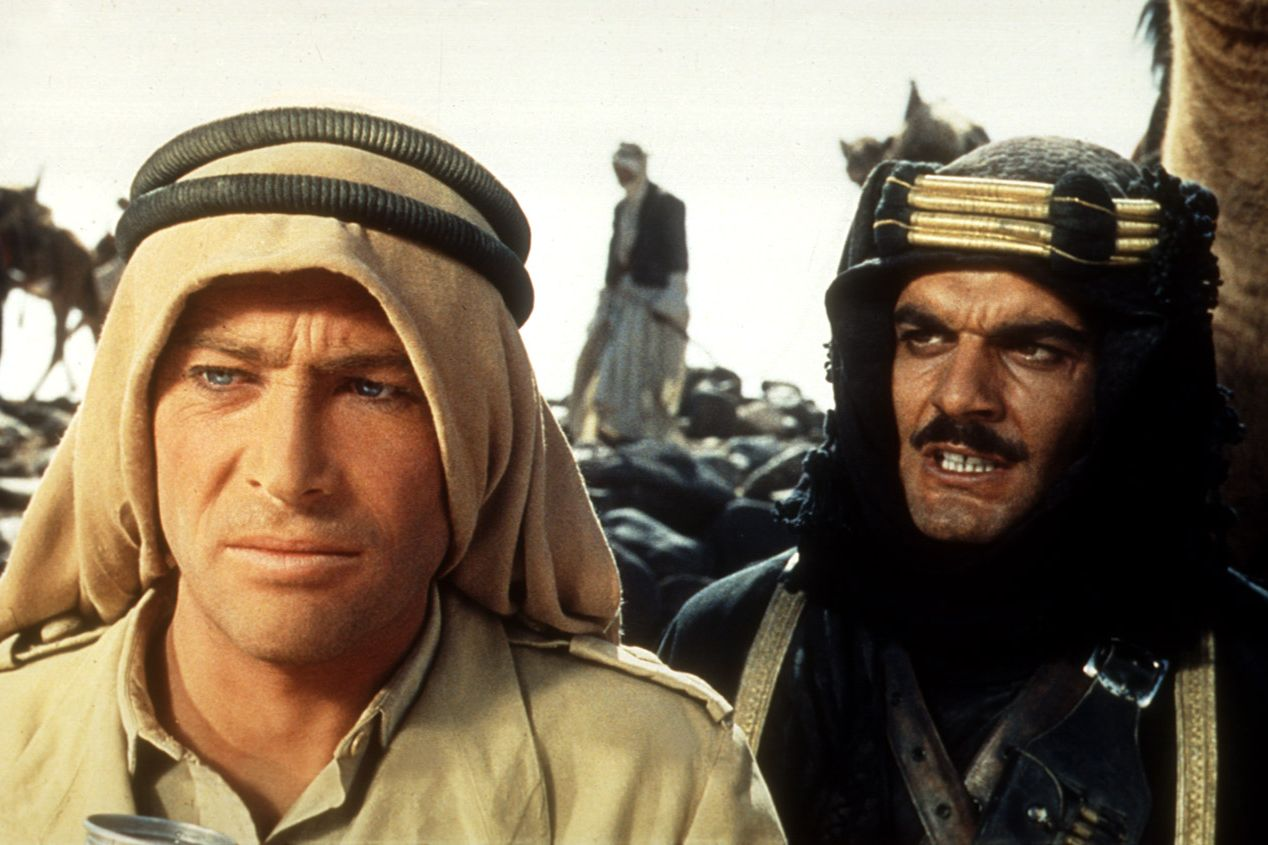 Watch Now David Lean's 70mm desert epic stars Peter O'Toole in the sweeping film about T.E. Lawrence, the British archaeologist, military officer, and World War I liaison to the Ottoman Empire. It was shot in Morocco, Spain, Jordan, and England—try to catch those stunning locations and O'Toole's baby blues on the big screen if you can.
