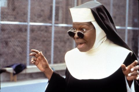 sister act 2 back in the habit, whoopi goldberg, 1993, cbuena vista picturescourtesy everett collection