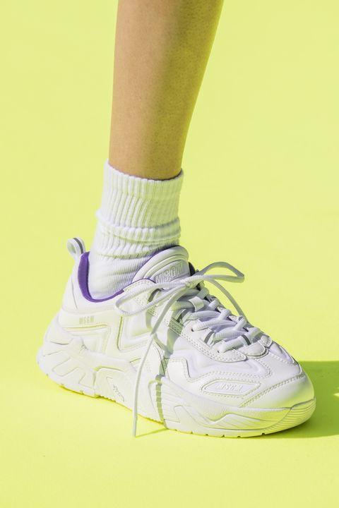 Footwear, Shoe, White, Sneakers, Yellow, Pink, Fashion, Sportswear, Nike free, Outdoor shoe,
