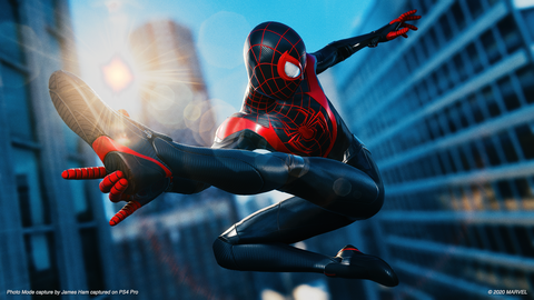 screenshot from miles morales spiderman on playstation 5