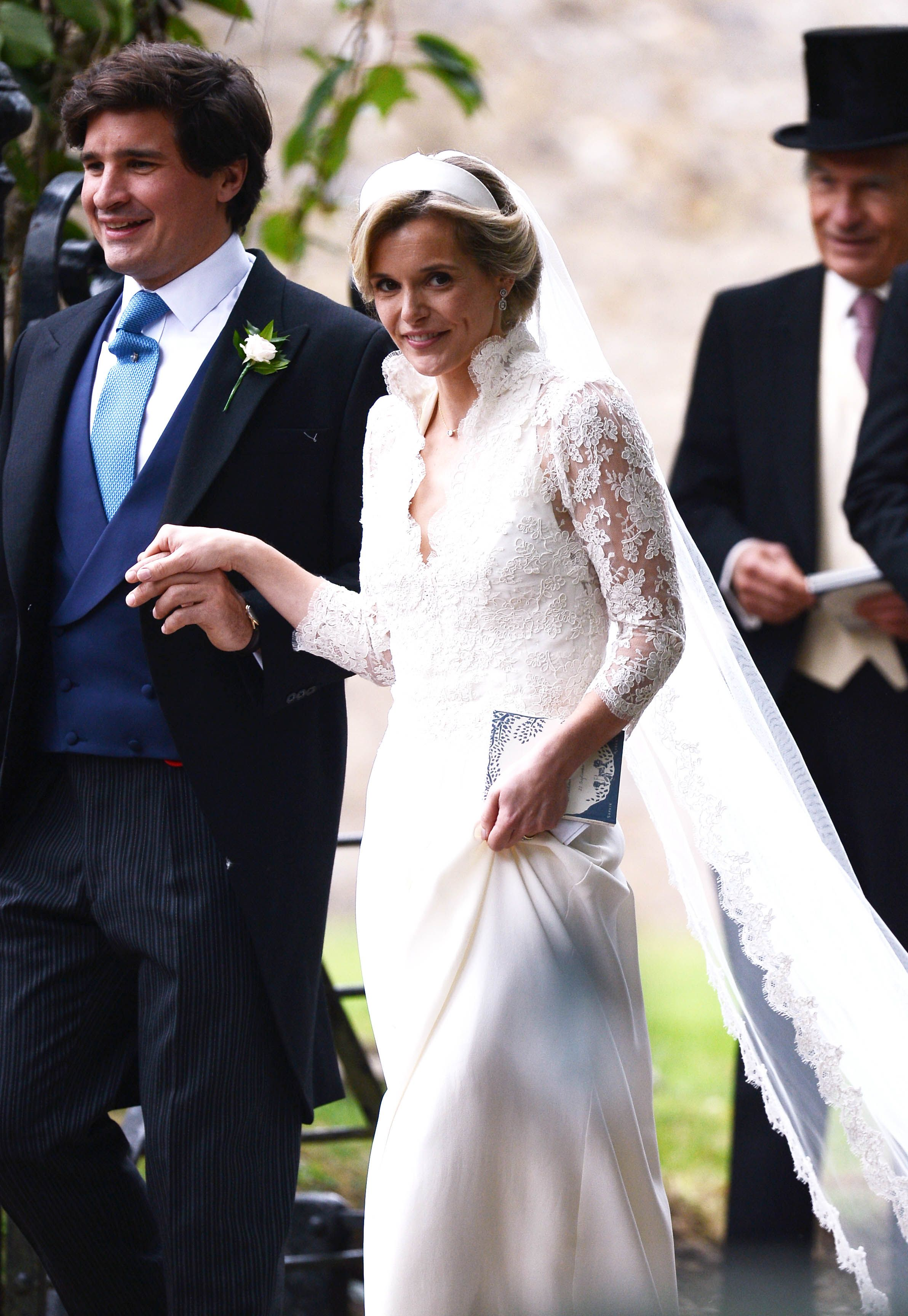 In September, both Prince George and Princess Charlotte were bridal attendants for the wedding of Kate Middleton's close friend Sophie Carter to Robert Snuggs at St. Andrew's Episcopal Church in Norfolk.
