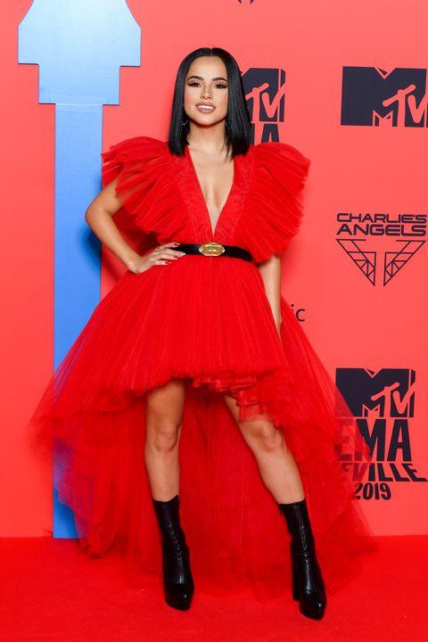 Becky J, en la alfombra roja.