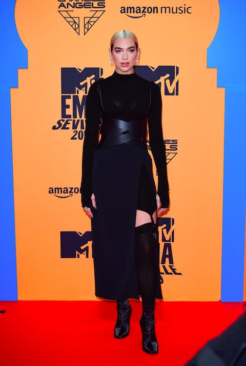 Dua Lipa, en los MTV EMA 2019.