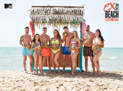 De deelnemers van Ex On The Beach Double Dutch