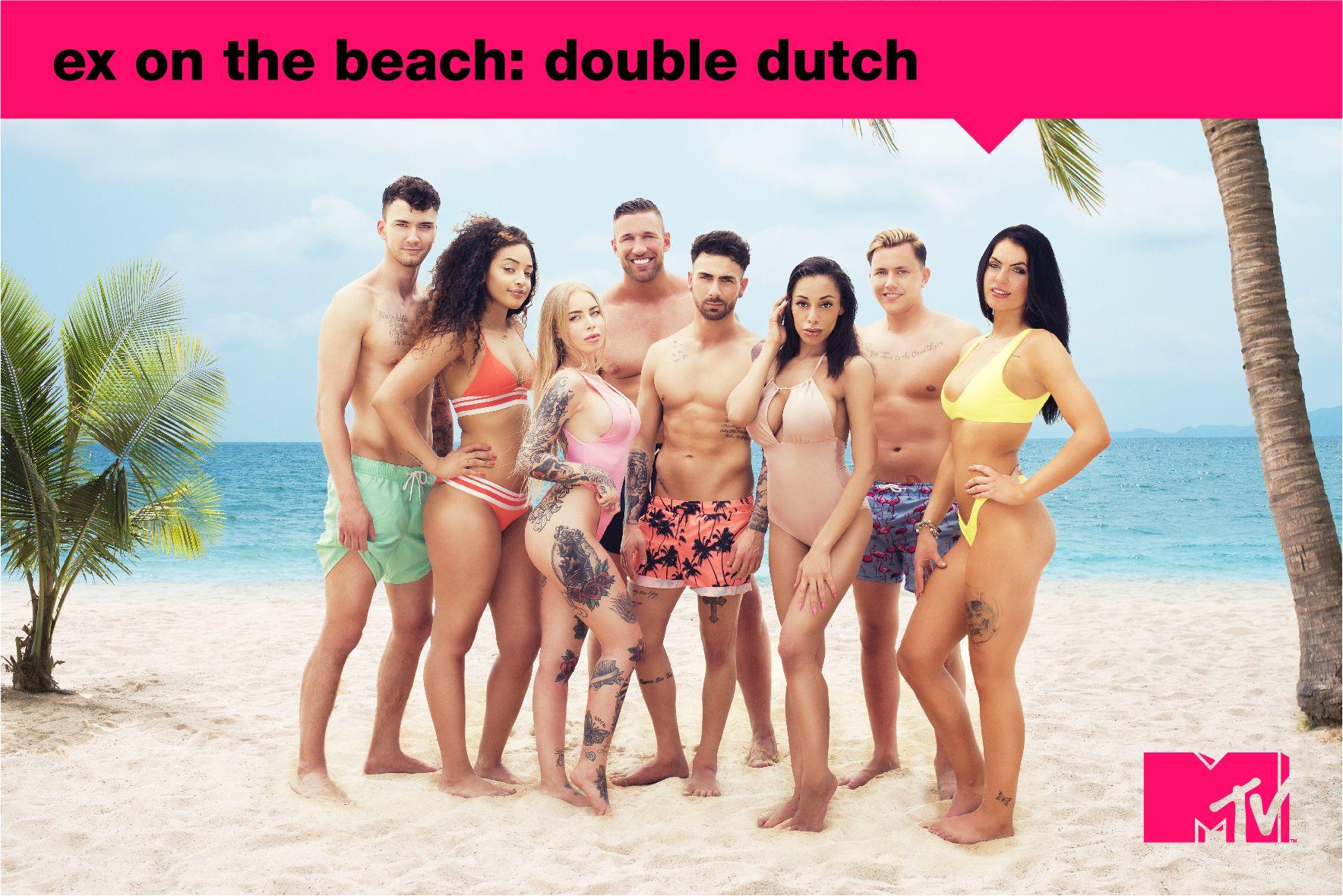 Er komt een foursome in Ex on the Beach Double Dutch met déze deelnemers