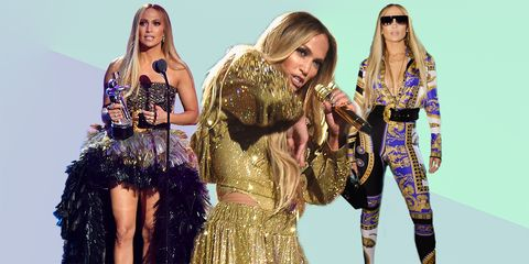 jennifer lopez at the 2018 mtv vmas