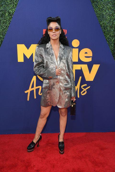 Tessa Thompson at the MTV Movie and TV Awards 2019