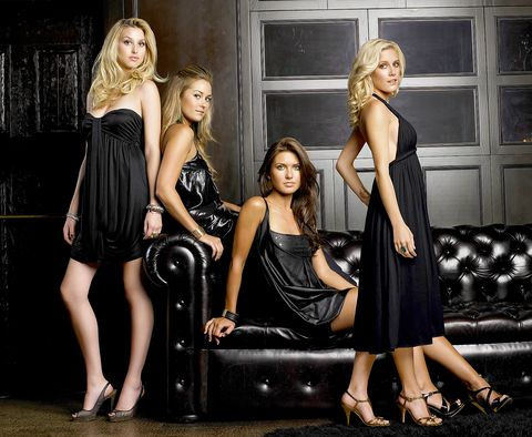 Little black dress, Dress, Fashion, Blond, Photo shoot, Fashion model, Photography, Flash photography, Model, Long hair,