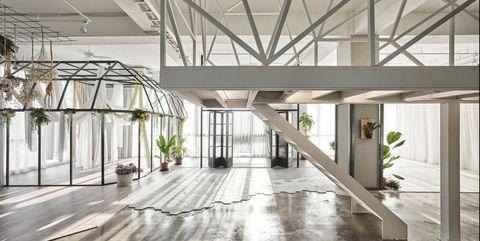 Mu-Mu Photography Studio, de Han Yue Interior Design. Foto: Yi-Hsien Lee Photography