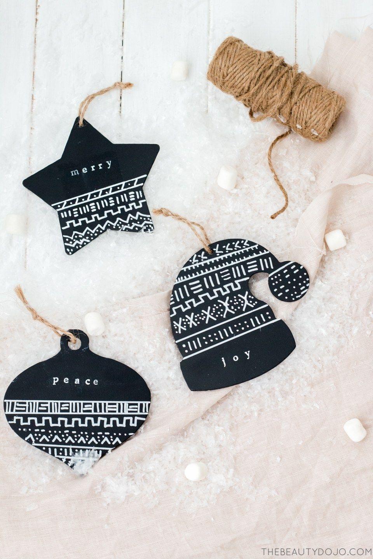 Diy Christmas Ornaments Mud Cloth Ornaments