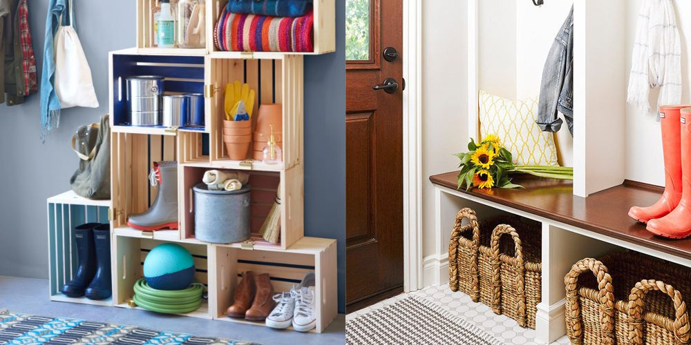 Outstanding 15 Mudroom Organizing Tips Shoe Storage And Bench Ideas Download Free Architecture Designs Rallybritishbridgeorg