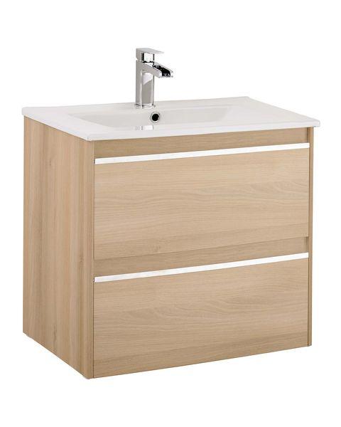 Mueble de lavabo suspendido con cajones