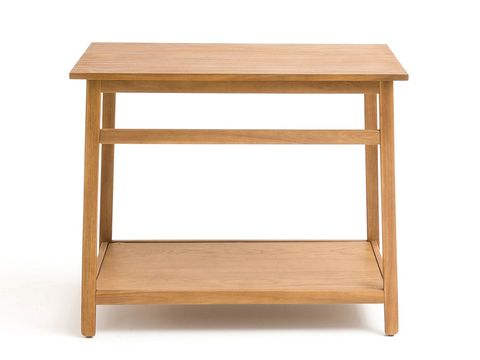Furniture, Table, Shelf, End table, Nightstand, Drawer, Rectangle, Hardwood, Desk, Outdoor table,