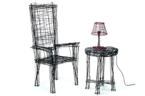 Muebles garabato de Jinil Park