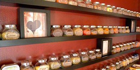 Shelf, Food,
