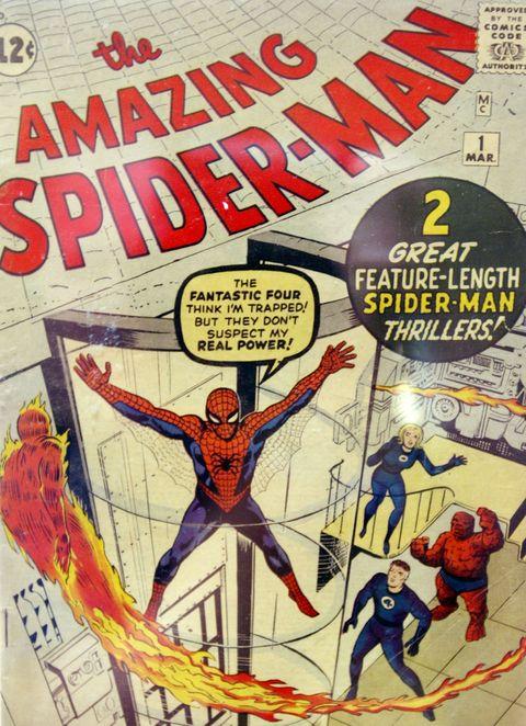 Comics, Comic book, Spider-man, Fictional character, Fiction, Superhero, Hero, Poster, Book cover, Illustration,