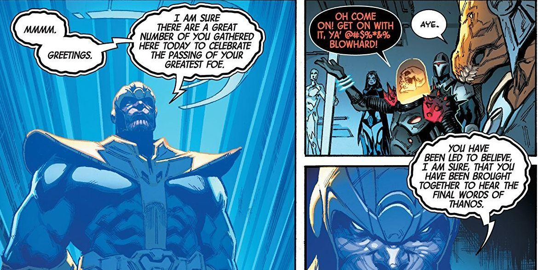 muerte Thanos testamento