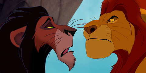 photo of scar lion king