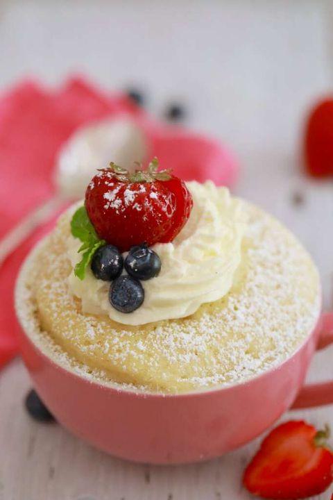 mug cake sponge