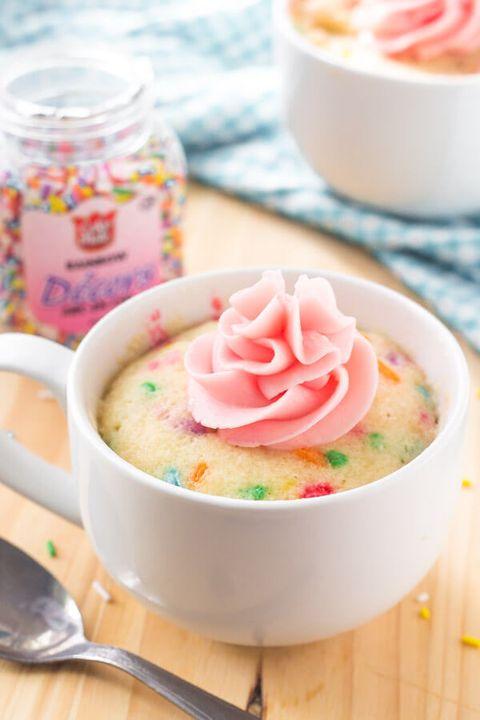 mug cakes vanilla