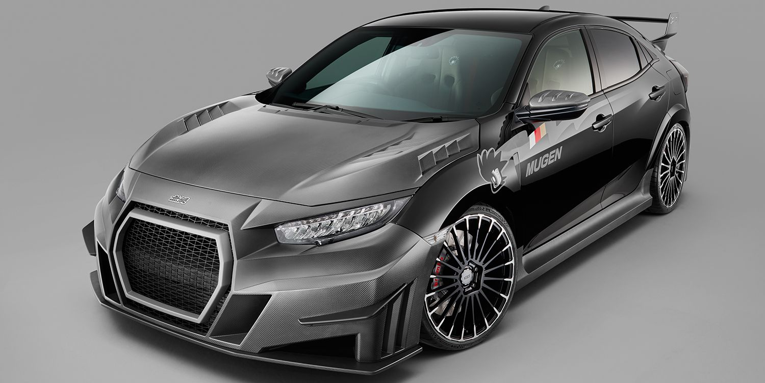 Mugen's Body Kit for the Honda Civic Type R Makes It Look Even More Insane
