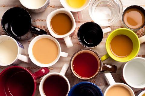 mugs with drinks