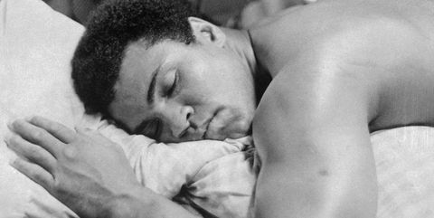 muhammad ali dormido