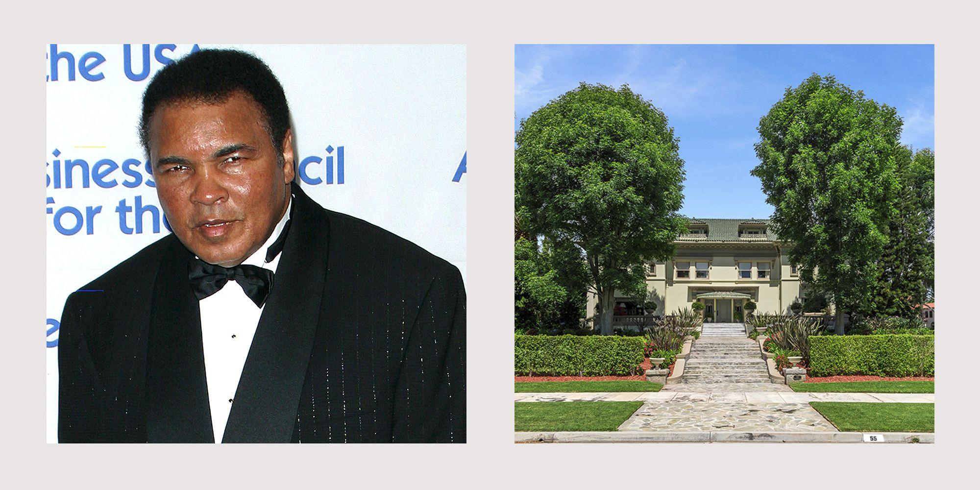 Muhammad Ali's Former Los Angeles Estate Hits the Market for $17 Million
