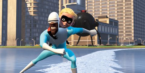 mujer frozono increibles 2 pixar