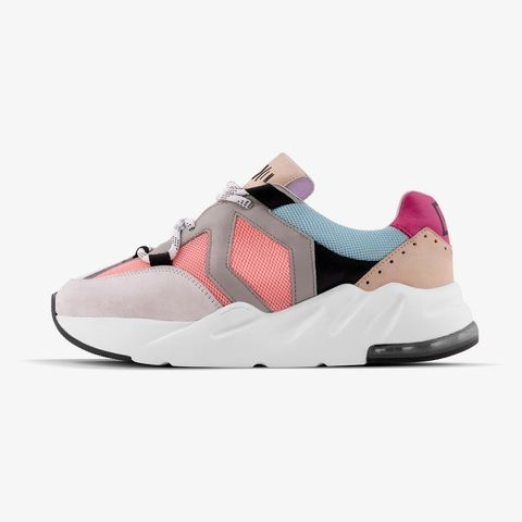 Footwear, Sneakers, Shoe, White, Pink, Product, Mary jane, Beige, Sportswear, Outdoor shoe,