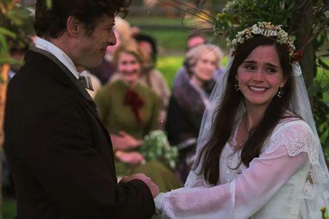 Photograph, Ceremony, Event, Marriage, Wedding, Tradition, Botany, Wedding dress, Smile, Dress,