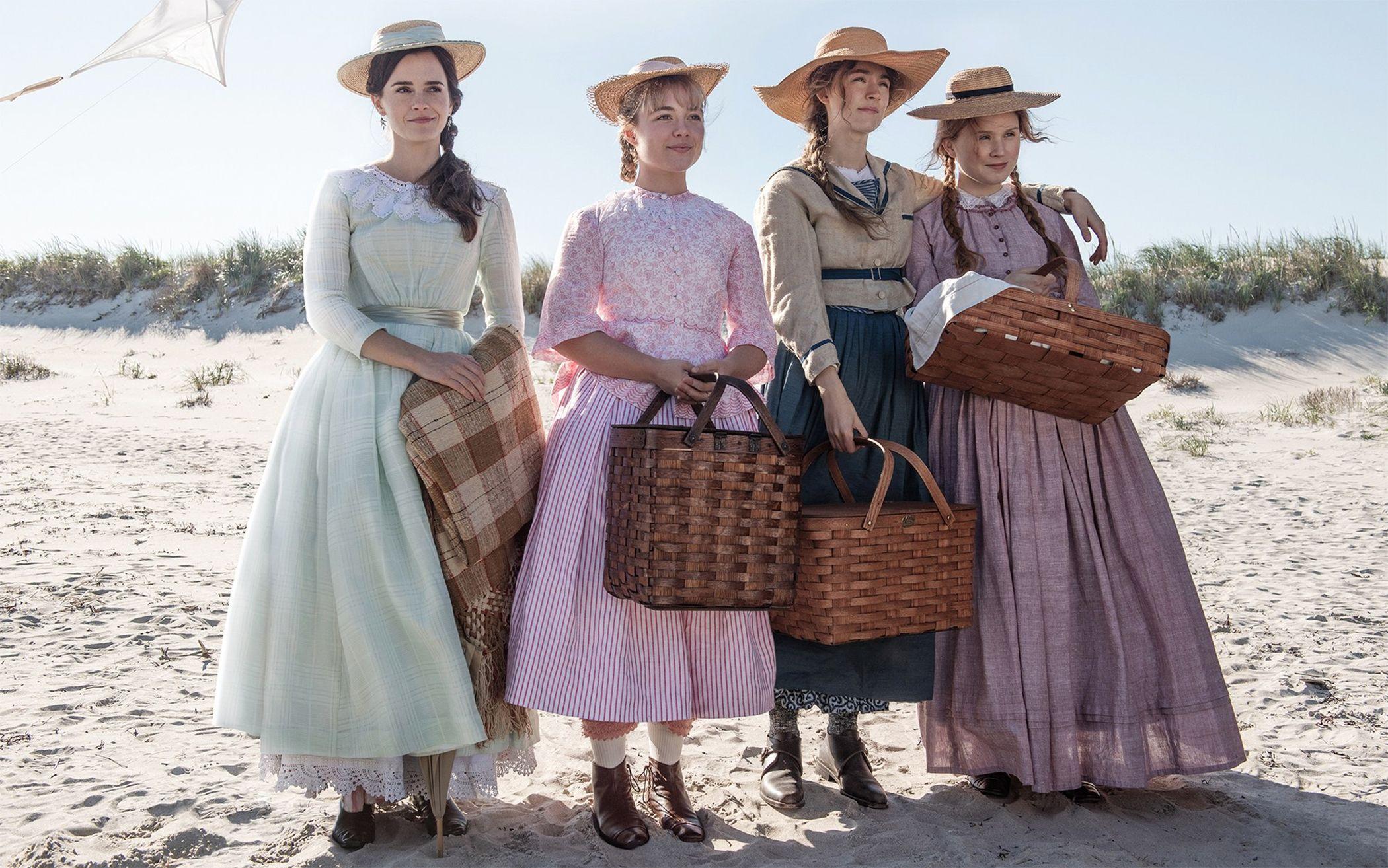 Mira las imágenes de 'Mujercitas',  la película que prepara Greta Gerwig