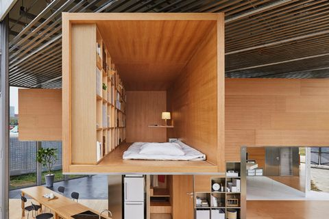 MUJI propone su concepto de casa para sus propios empleados