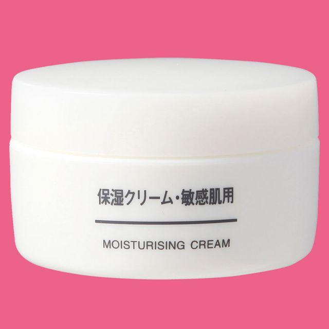 muji moisturising cream sensitive review