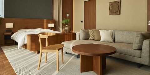 Furniture, Room, Table, Coffee table, Property, Interior design, Chair, Wood, Floor, Plywood,