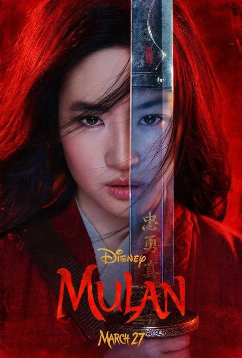 mulan live action remake disney poster