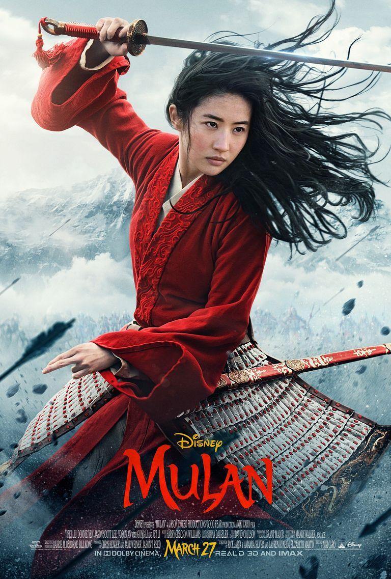 Poster film Mulan (2020)