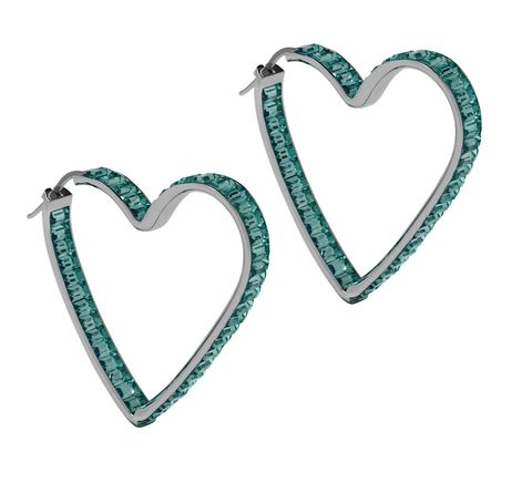 Jewellery, Fashion accessory, Heart, Body jewelry, Earrings, Turquoise, Silver, Turquoise, Heart, Gemstone,