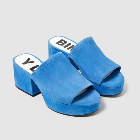 Footwear, Blue, Cobalt blue, Electric blue, Shoe, Turquoise, Slipper, Sandal,